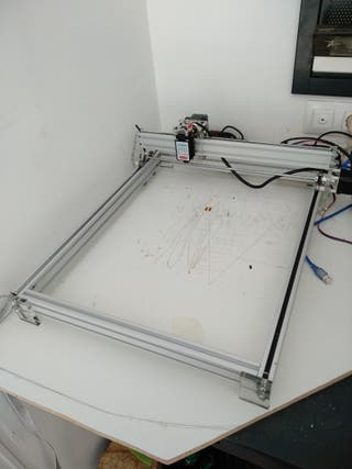 Maquina corte y grabado laser