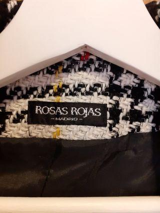 Chaqueta de Rosas Rojas