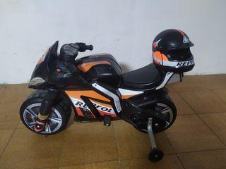 Moto Repsol niños batería