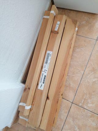 somier de madera marca ikea 70 x 200