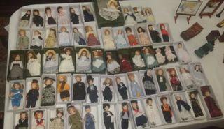 Muñecas de porcelana (colección 62 muñecas)