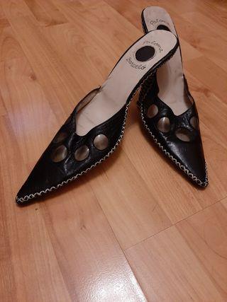 Zapatos Paloma Barceló de piel talla 39