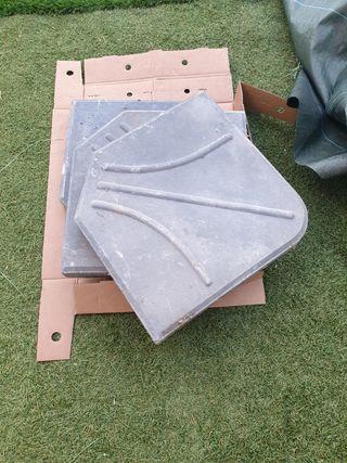 piedras para sujetar parasol