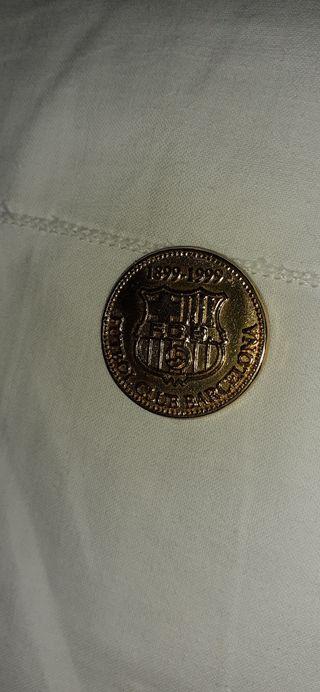 Moneda conmemorativa del FC. Barcelona