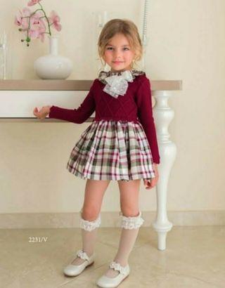 Vestido Dolce Petit 5 años.