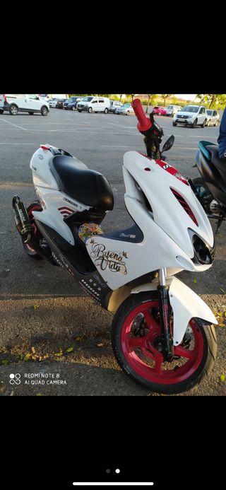 Yamaha aerox solo cambios!!!