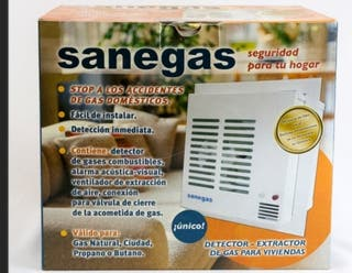 Detector extractor de gas sanegas., nuevo