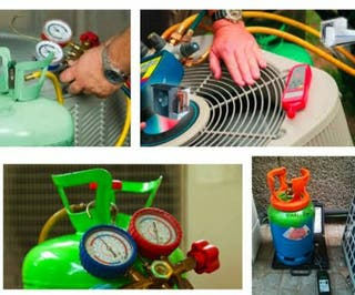 Cargas gas, aire acondicionado