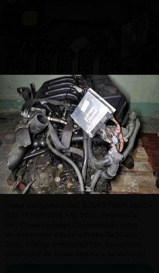 motor land rover freelander 2.0 diesel