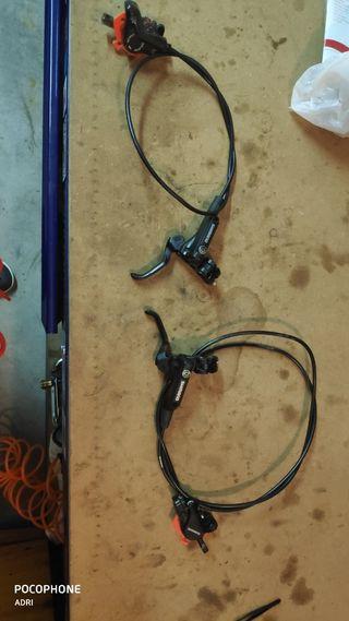 Frenos hidráulicos Shimano M447