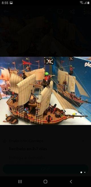 barco pirata de playmobil