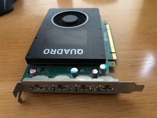 Tarjeta gráfica NVIDIA Quadro 4Gb DDR5