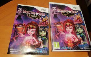 Monster High 13 monstruo - deseo