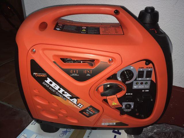 Generador gasolina 4 tiempos