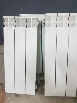 Radiadores de aluminio de 60cm altura.