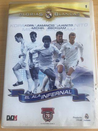 DVD glorias blancas Real Madrid