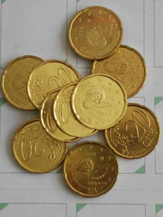 1999. Monedas 20 céntimos euro
