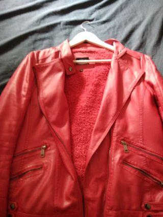 chaqueta roja XL