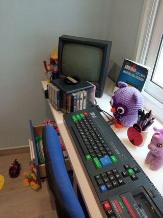 ordenador AMSTRAD 64k CPC 464 monitor verde
