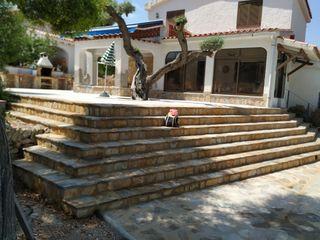 escaleras de recubrimiento de piedra