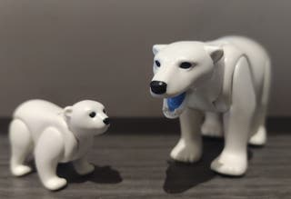 oso polar de playmobil