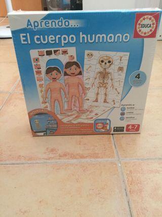 Aprendo el cuerpo humano nuevo!!