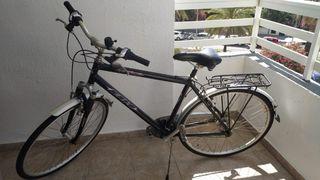 bicicleta paseo ciudad con marchas