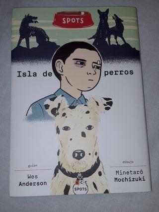 cómic Isla de Perros