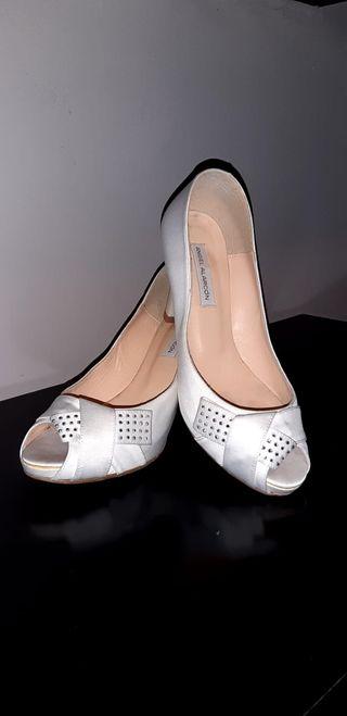 Zapatos de novia, talla 38