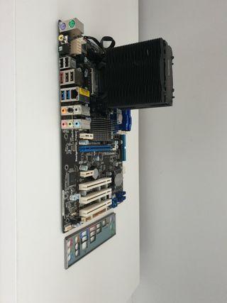 Combo placa base+cpu+RAM