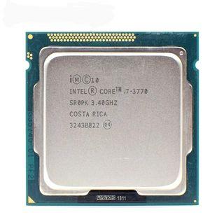 Procesador CPU Intel I7 3770 3.4 Ghz