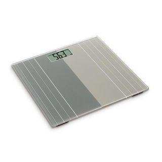 OGO Báscula de baño electrónica Hercule Glass Tray