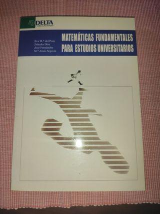 Matemáticas fundamentales para estudios universita