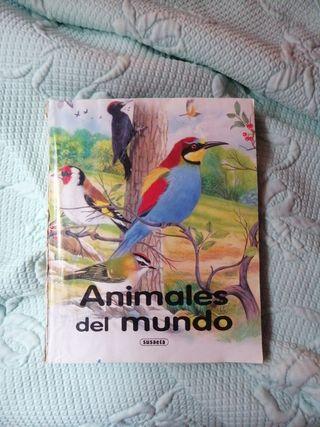"Libro ""Animales del mundo"""