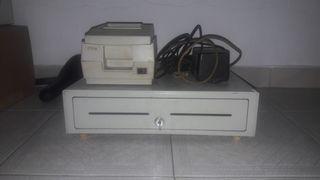 Impresora y cajón portamonedas Epson
