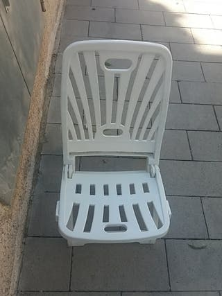 silla playa plegable