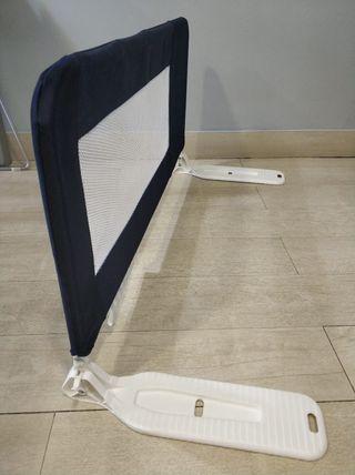 Barrera de cama plegable