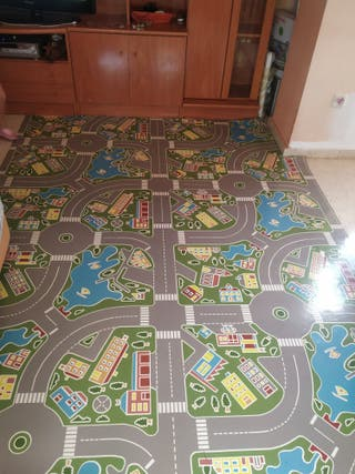 alfombra vinilo infantil