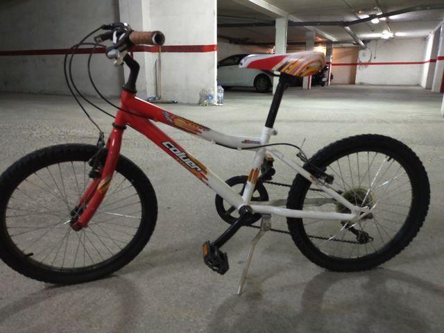 "Bicicleta 14"". 6 marchas"