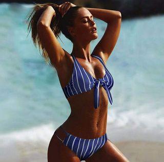 Bikini Rayas Lazo NUEVO