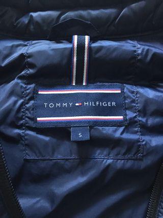 Chaleco plumas Tommy Hilfiger Talla S