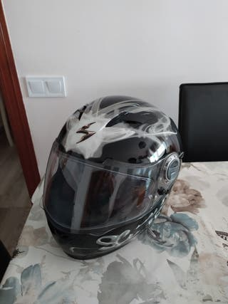 casco scorpions.talla M 58 ctros