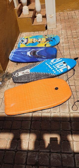 tabla de body surf x 4