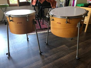 Timbales orff marca Sonor