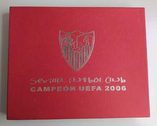 Monedas conmemorativas Uefa Sevilla Fc