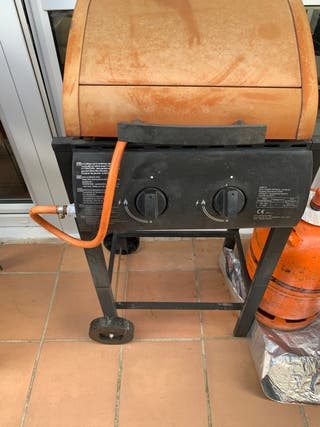 Barbacoa gas pequeña