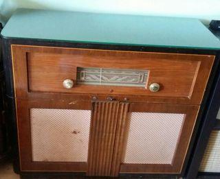philips FE-644-A tocadiscos, radio