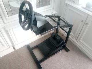 soporte para volante y simuladores