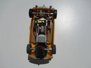 MINI COOPER 1/32 SCALEXTRIC TRIANG C7 CASI NUEVO