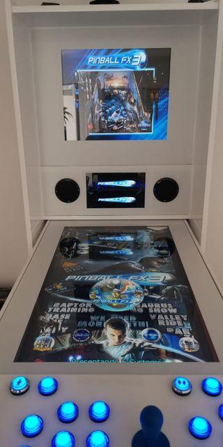 pinball virtual arcade abatible